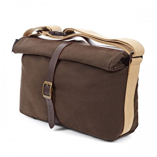 Bolsa Brompton Roll Top Bag Khaki