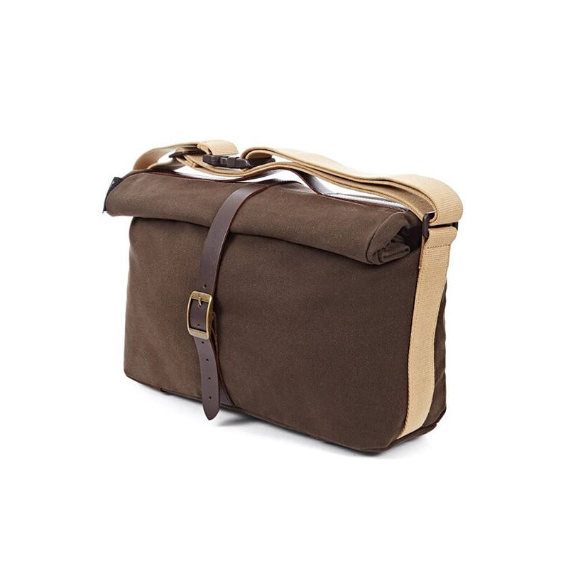 Bolsa Brompton Roll Top Bag Khaki