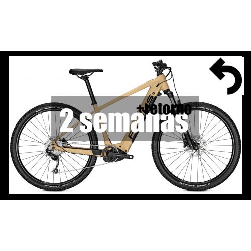 Alquiler bicicleta eléctrica (2 semanas + retorno)